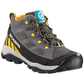 Scarpa Neutron GTX Mid Shoes Kids dark gray/yellow